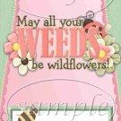 Plant a Garden Friendship  ~  MINI Candy Bar Wrapper