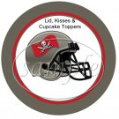 Tampa Bay Bucaneers (Faux) Cupcake Picks & Toppers