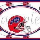 New York Buffalos ~ Faux NFL Football Teams ~  MINI Candy Bar Wrapper