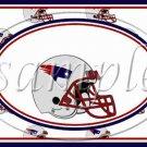 New England Patriots ~ Faux NFL Football Teams ~  MINI Candy Bar Wrapper