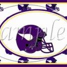 Minnesota Vikings ~ Faux NFL Football Teams ~  MINI Candy Bar Wrapper