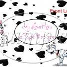 101 Dalmatian Faux Gallon Can Set