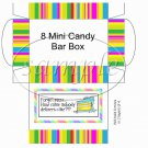 Nobody Delivers Cake!?! ~  Hershey's Mini Candy Bar 8 Wrapper Box