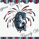 Fireworks MINI Candy Bar Alphabet & Numbers Wrappers