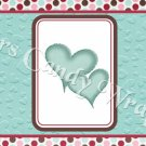 Love Bug Ladybug Set #2 ~   MINI Candy Bar Wrapper