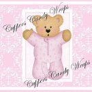 Pink Baby Damask EXTRAS Set #1 ~ MINI Candy Bar Wrappers