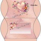 Floral Pillow Box