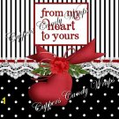 From My Heart to Yours MINI Candy Bar Wrappers