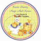 Bunny & Eggs ~ Easter ~ Cupcake Picks & Toppers