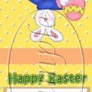 Bunny House  ~ Easter ~ Mint Matchbook Cover