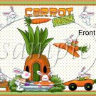 Carrot Patch   ~ Easter ~ Gallon Can Set