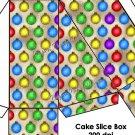 Ornaments  ~ Christmas ~ Cake Slice Box