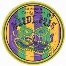 Mardi Gras Stripes  Cupcake Picks & Toppers