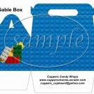 Faux Lego Legos #5 ~ Gable Box