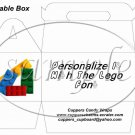 Faux Lego Legos #9 ~ Gable Box