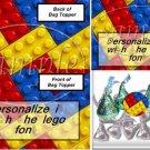 Faux Lego Legos #4   ~ Bag Topper