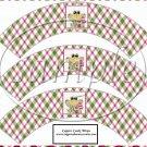 Mushroom Frog ~  Cupcake Paper Wrappers ~ Set of 1 Dozen