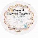 This is God, I Love You  ~ Cupcake Picks & Toppers