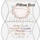 This is God, I Love You  ~ Pillow Box