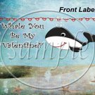 Whale You Be Mine  ~ Gallon Can Set