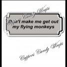 Flying Monkeys ~ Candy Bar Wrapper