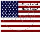 American Flag  ~ Gallon Can Set
