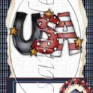 I Love America ~ MINI Candy Bar Wrapper