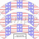 Open Arms   ~  Cupcake Paper Wrappers ~ Set of 1 Dozen