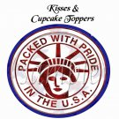 Packed With Pride  ~ 4th of July Cupcake Picks & Toppers