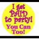Water Bottle Wrapper Paid to Party ~ Set of 12