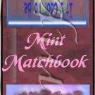 Back to School (AA Black) ~ Mint Matchbook Cover