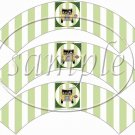 World's Best Bus Driver  ~  Cupcake Paper Wrappers ~ Set of 1 Dozen