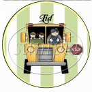 World's Best Bus Driver  ~ Cupcake Picks & Toppers
