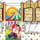 Circus Wagon  ~ Carriage Popcorn Box