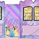 Princesses  Inspired By  ~ Carriage Popcorn Box