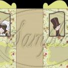Wedding Bride & Groom  ~ Carriage Popcorn Box or Gift Box
