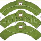 We Need S'More Teachers Like You Green ~  Cupcake Paper Wrappers ~ Set of 1 Dozen