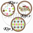 Brown God's Blessings ~ Cupcake Picks & Toppers