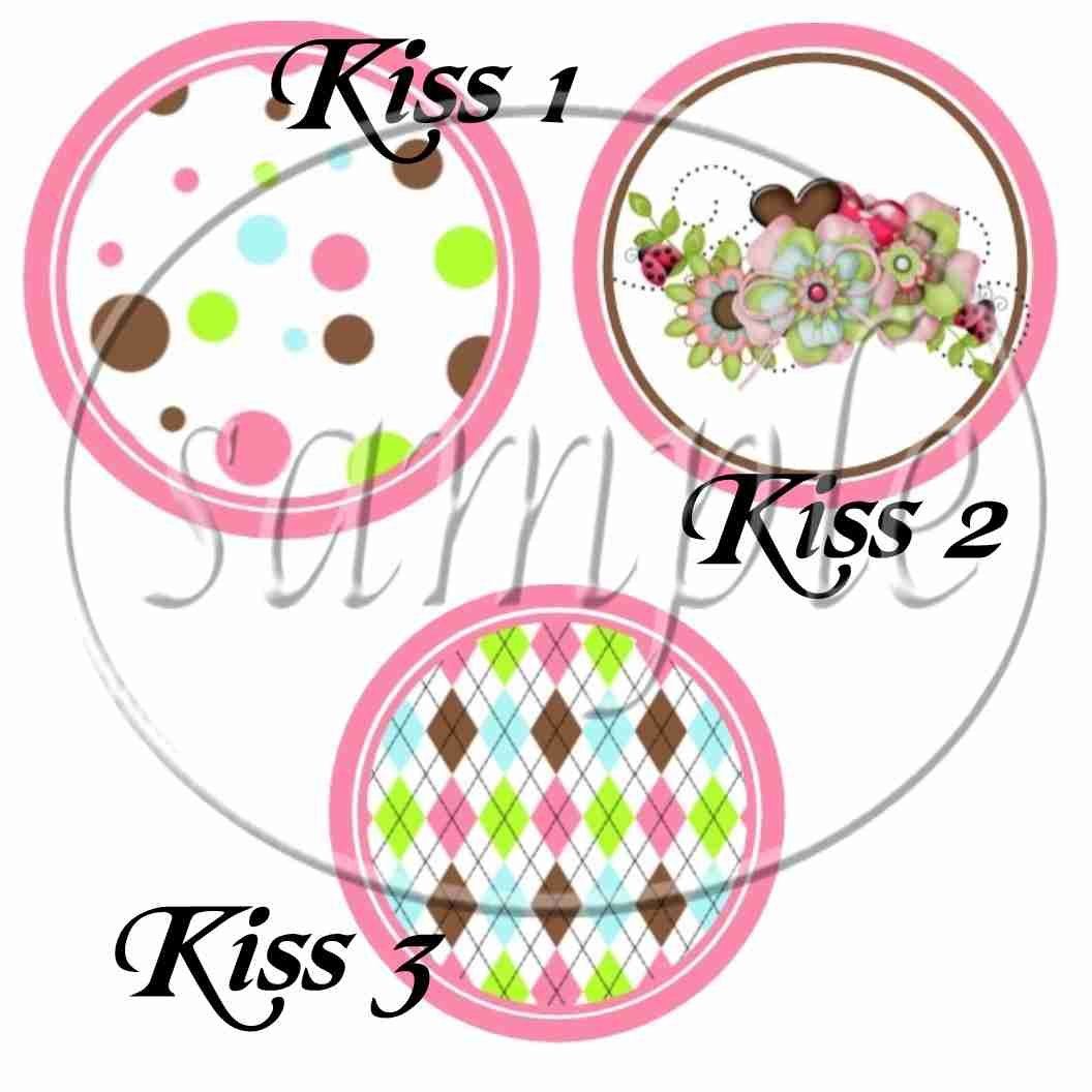 Pink God's Blessings ~ Cupcake Picks & Toppers