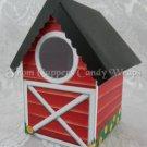 Country Red Barn ~  Mini Birdhouse