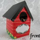 Country Red House ~  Mini Birdhouse