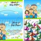 Grandchildren Fill the Empty Space ~  Bag Topper