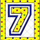 Happy Birthday Yellow Polka Dot ~ Mini Candy Bar Alphabet & Numbers Wrappers