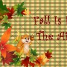 Fall Is In The Air ~ Gallon Can Set