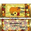 Bountiful Harvest  ~ Standard Candy Bar Wrapper  SOE