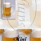 Mugs of Beer  ~ MINI Candy Bar Wrappers