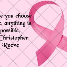 Choose Hope Breast Cancer ~ Gallon Can Set