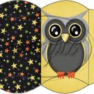 Owl Halloween #1 ~ Pillow Box