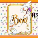 Candy Corn Ghost  ~ MINI Candy Bar Wrappers