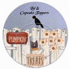 Country Halloween ~  Cupcake Pick & Toppers ~ Set of 1 Dozen